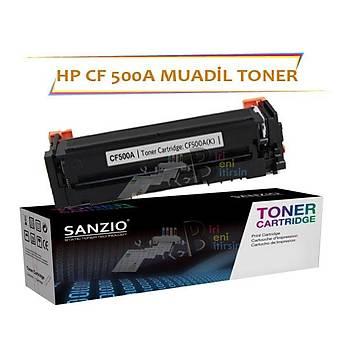 HP Laserjet Pro CF500A Çipsiz Siyah Muadil Toner M254 M280 M281