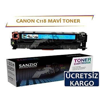 Canon C118 Mavi Muadil Toner LBP7200 LBP7660 LBP8380