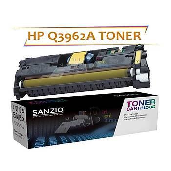 Hp Color LaserJet Q3962A Muadil Toner 122A 2550 2820 2840