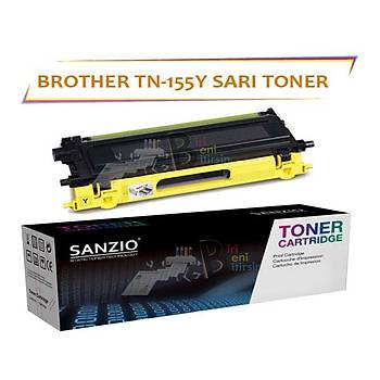 For Brother Tn-155Y Sarý Muadil Toner 9040/4040
