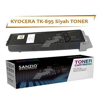 Kyocera Mita TK 895BK Siyah Muadil Toner FS C 8020 8025 8520 8525