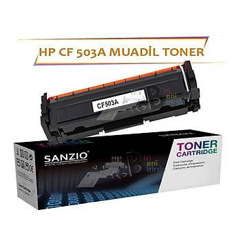 HP Laserjet Pro CF503A Çipsiz Kýrmýzý Muadil Toner M254 M280 M281