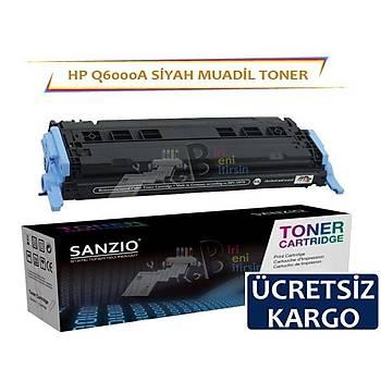 HP Color LaserJet Q6000A Muadil Toner Siyah Renk 1600 2600 2605 1015 1017