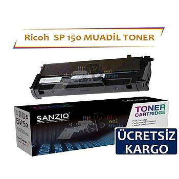 Ricoh SP 150 Siyah 1500 Sayfa Muadil Toner SP 150 150S 150Sf