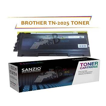 For Brother Tn-2025 Muadil Toner 2040/7010
