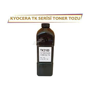 KYOCERA TK Tonerler için Yüksek Kalite Siyah Toner Tozu 1Kg