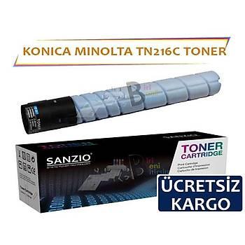 Konica Minolta TN216 Mavi Muadil Toner C220 C360 C280