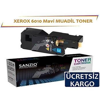 Xerox 6010 Mavi 106R01631 Muadil Toner Phaser 6000 6010 Wc6015