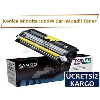 Konica Minolta 1600W Sarý Muadil Toner Fax 1600 1600E 2600 2800 3600 3800