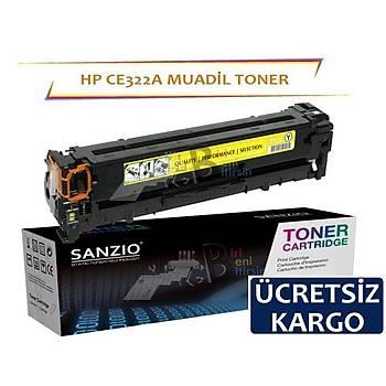 Hp CE322A Muadil Toner Sarý 128A Cm1415 Cp1525