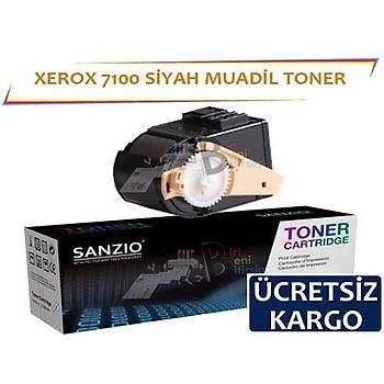 Xerox Phaser 7100 Muadil Toner Siyah