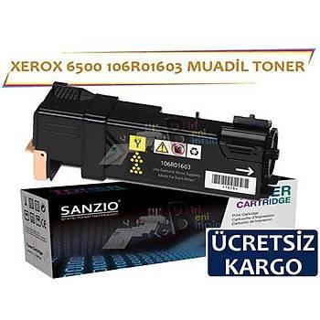 Xerox 6500 Sarý 106R01603 Muadil Toner Phaser 6500 6505N MFP