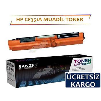 HP CF351A Muadil Toner 130A Color LaserJet Pro M176N M177FW