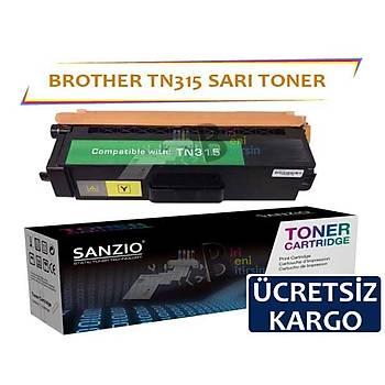 For Brother TN 315 Y Sarý Muadil Toner HL4150 HL4570
