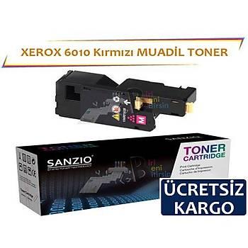 Xerox 6010 Kýrmýzý 106R01632 Muadil Toner Phaser 6000 6010 Wc6015