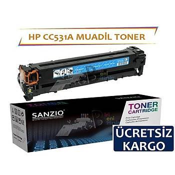 Hp CC531A Muadil Toner CM2320 CP2025 CP2020