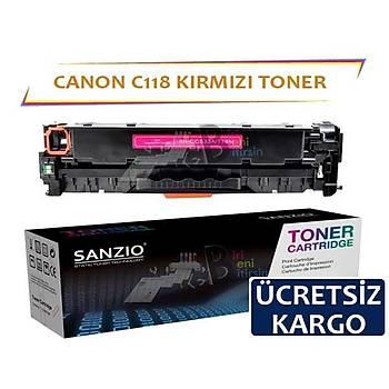 Canon C118 Kýrmýzý Muadil Toner LBP7200 LBP7660 LBP8380