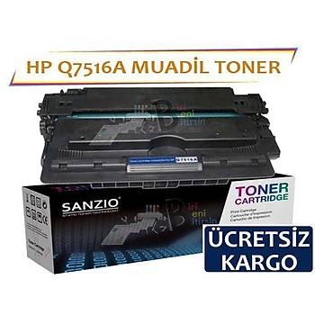 Hp LaserJet Q7516A Muadil Toner 16A 5200 5200tn 5200dtn 5200n 5200l 5200lx