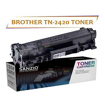 For Brother TN 2420 Black Siyah 3000 Sayfa Muadil Toner DCP L2510D HL L2310D MFC L2710DN