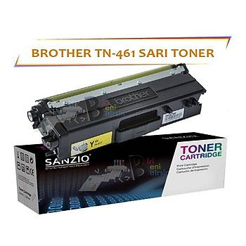 For Brother TN 461 Sarý Muadil Toner DCP L8410CDW MFC 8690 8900 HL8260
