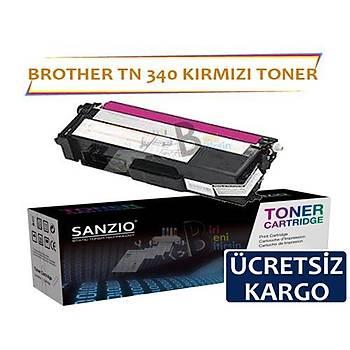 For Brother Tn 340 M Kýrmýzý Muadil Toner Dcp9055 Hl 4150 4570 Mfc9460 9970