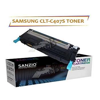For Samsung Clt-C407S Muadil Toner CLP320 CLP325 CLX3185 CLX3186