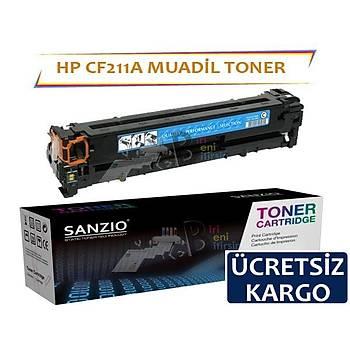 HP LaserJet Pro 200 CF211A Muadil Toner Mavi 131A M251n, M276n, M276nw
