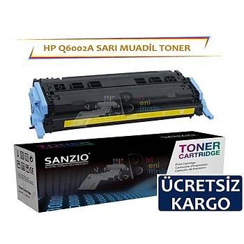 Hp Q6002A Muadil Toner Sarý Renk 1600/2600/1015