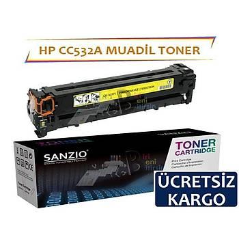 Hp CC532A Muadil Toner CM2320 CP2025 CP2020