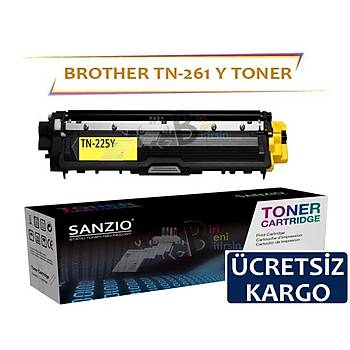 For Brother Tn 261 221 225 241 245 281 285 260 Y Muadil Toner