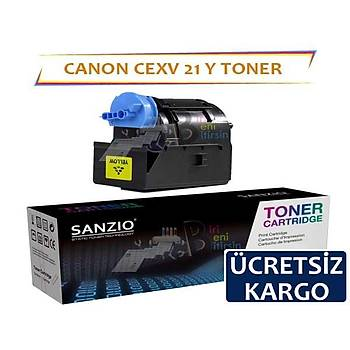 Canon CEXV21 Sarý Muadil Toner IRC2550 IRC2880 IRC2380