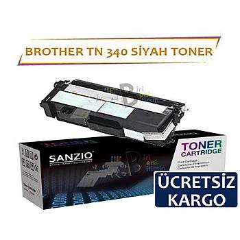 For Brother Tn 340 K Siyah Muadil Toner Dcp9055 Hl 4150 4570 Mfc9460 9970