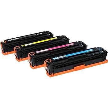 Hp LaserJet Pro CB540A Muadil Toner Seti 4 Renk CM1312NF, CP1215, CP1515N, CP1518N, M251, M276MFP