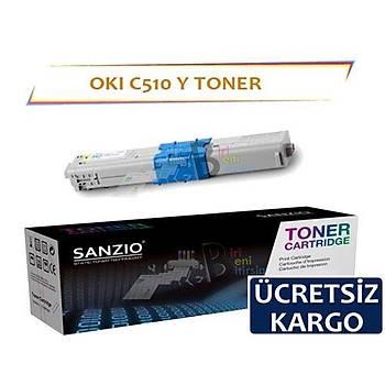 Oki C510 Muadil Toner Sarý Yüksek Kapasiteli C511 C530 C531 MC352 MC361 MC561 MC562