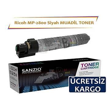 Ricoh MP C2800 C3300BK Siyah Muadil Toner Aficio C3501 3001 2500