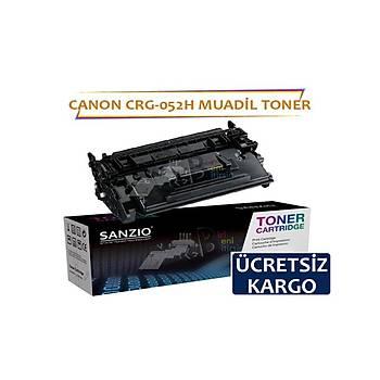Canon CRG-052H Muadil Toner 9000 syf i-SENSYS LBP212dw LBP