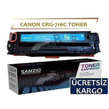 Canon Crg-716C Mavi Muadil Toner i-Sensys LBP5050 MF8050CN MF8030CN
