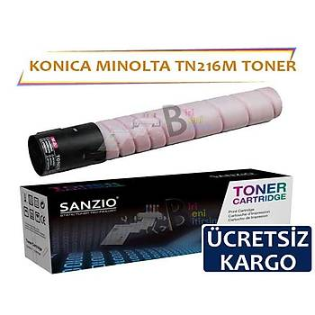 Konica Minolta TN216 Kýrmýzý Muadil Toner C220 C280 C360