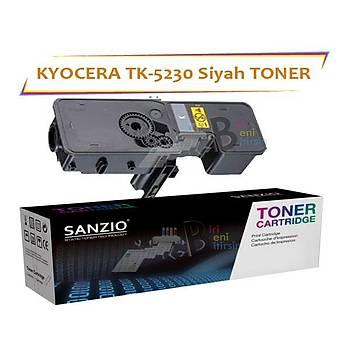 Kyocera Mita TK5230 Black Siyah 2600 Sayfa Muadil Toner ECOSYS P5021 M5521