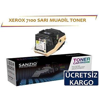 Xerox Phaser 7100 Muadil Toner Sarý