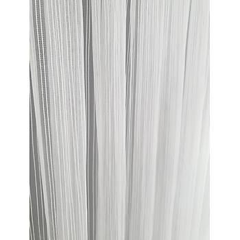 BBB Zincir Ýp Çizgili Modern Tül Perde Yüksek Kalite ET3001