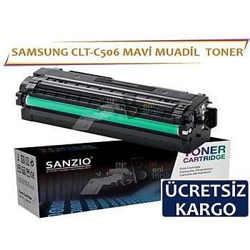 For Samsung Clt-C506 Muadil Toner Mavi CLP 680ND CLX 6260
