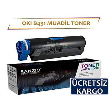 Oki B431 Muadil Toner B431 MB491 10.000 sayfalýk