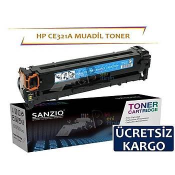 Hp CE321A Muadil Toner Mavi 128A Cm1415 Cp1525