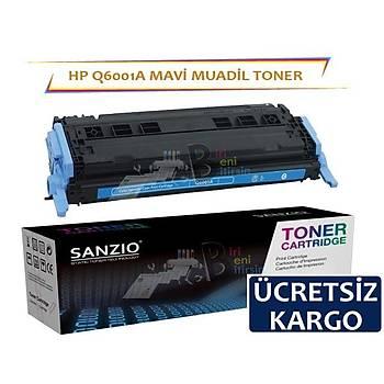Hp Q6001A Muadil Toner Mavi Renk 1600/2600/1015/