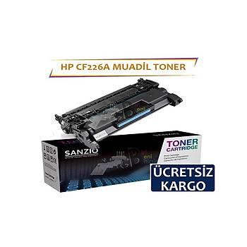 HP CF226A Siyah Muadil Toner 3100 syf Laserjet Pro M402 n dn dw M