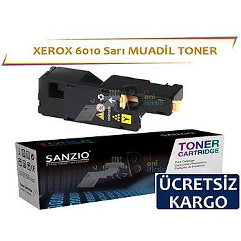 Xerox 6010 Sarý 106R01633 Muadil Toner Phaser 6000 6010 Wc6015