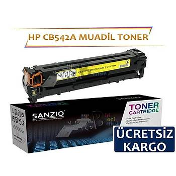 Hp LaserJet Pro 200 CB542A Muadil Toner CM1312NF CM1312MFP CP1215 CP1515N CP1518N M251 M276MFP