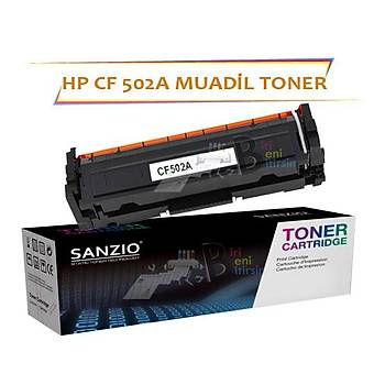 HP Laserjet Pro CF502A Çipsiz Sarý Muadil Toner M254 M280 M281