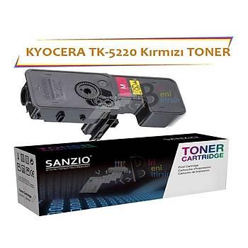 Kyocera Mita TK5220 Magenta Kýrmýzý 1200 Sayfa Muadil Toner Ecosys P5021 M5521